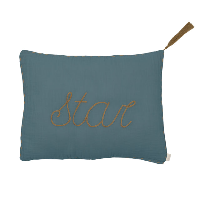 Numero 74 'Star' Ice Blue Cushion