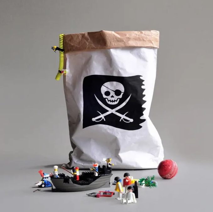 Kolor Paper Storage Sack Pirate
