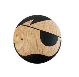 Lucie Kaas Pirate Wooden Wall Knob