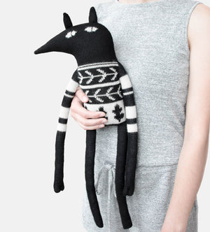 Main Sauvage Knitted Wolf