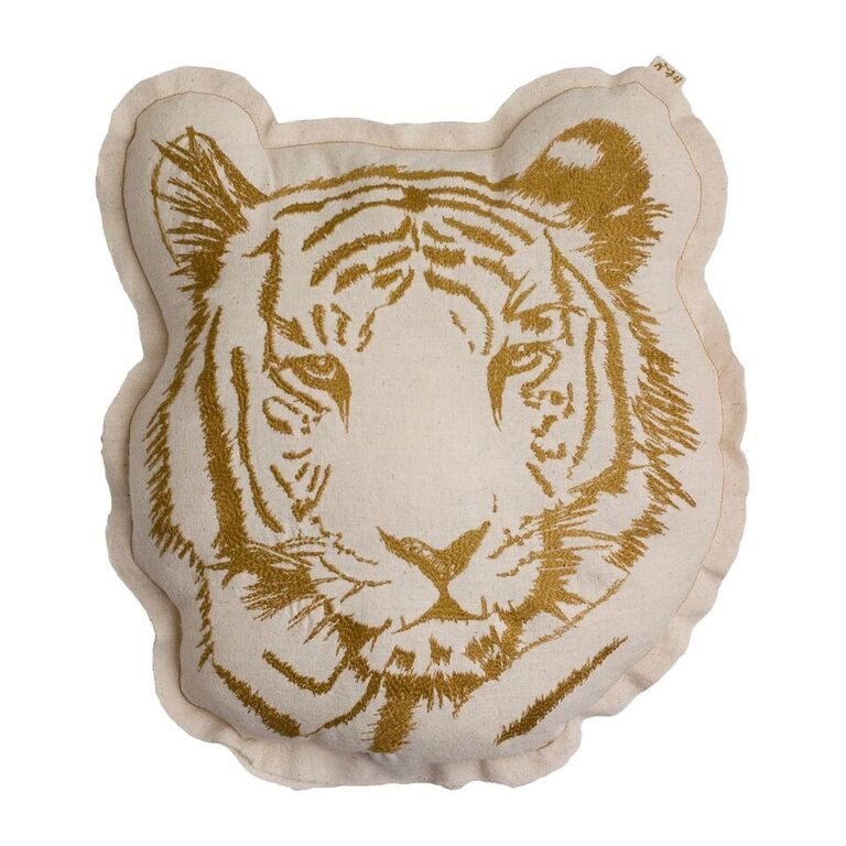 Numero 74 Embroidered Tiger Cushion - Alfie Wild