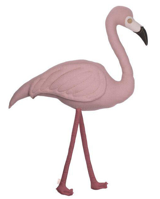 Numero 74 Polly Flamingo Cushion Dusty Pink - Alfie Wild