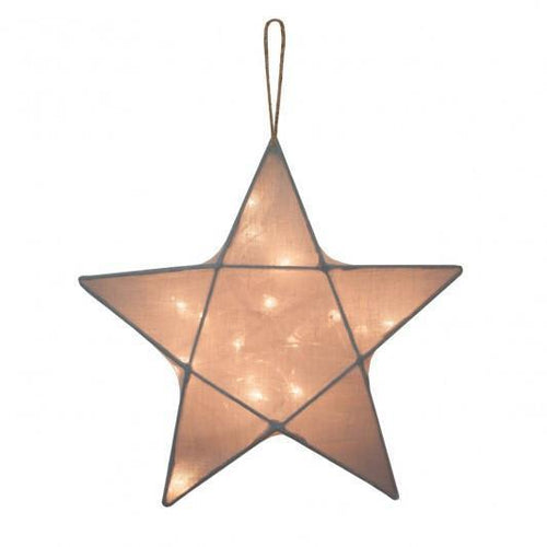 Numero 74 Star Lantern Silver Grey Small