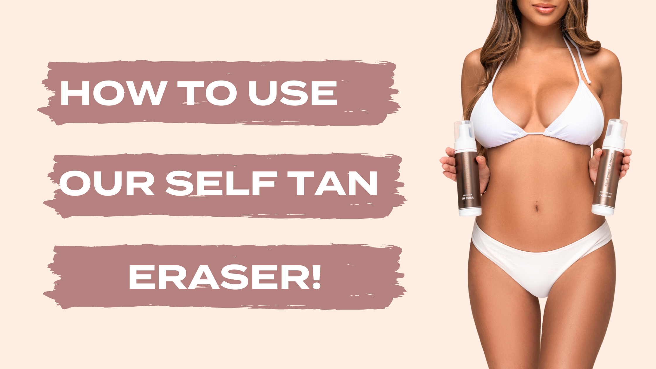 How to Use Our Self Tan Eraser!