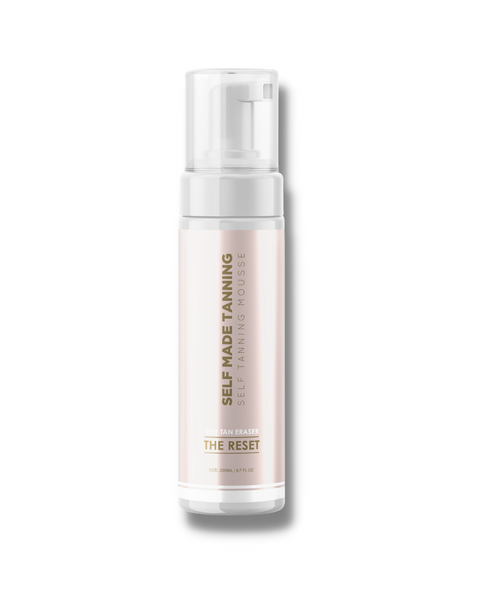 "Luxe Tan Eraser ""The Reset"" Coconut Infused"