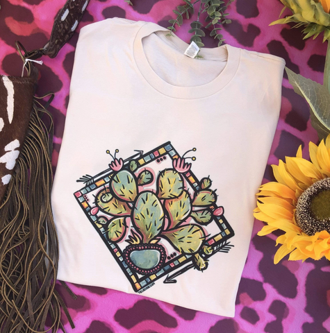 PUNCHY PRICKLY PEAR GRAPHIC TEE