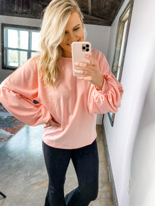 PINK & PUFFY TOP