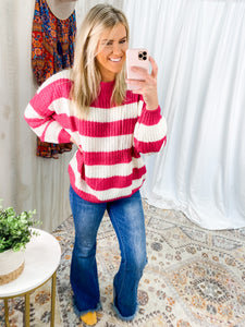 PINK CLOUD 9 SWEATER