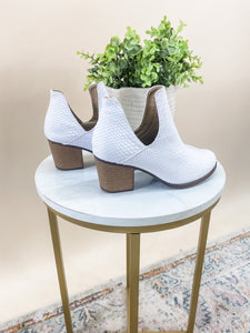GRACIE WHITE BOOTIES