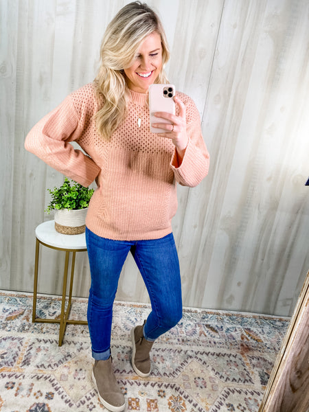 KNIT TO BE TIED SWEATER