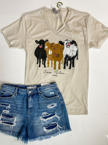 COW TALES GRAPHIC TEE | PLUS AVAIL