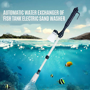 Automatic water exchanger of fish tank electric sand washer