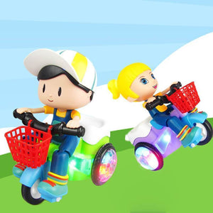 Electric Tricycle Toy with Music & Light