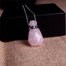 Load image into Gallery viewer, Crystal Perfume Diffuser Necklace
