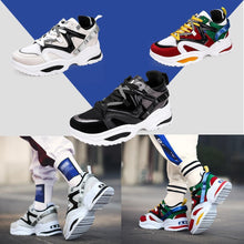 Load image into Gallery viewer, Fashion Chunky Sneakers Platform Lace Up Dad Shoes for Walking