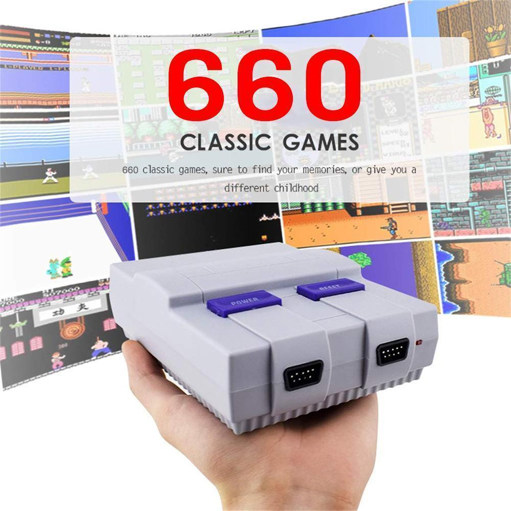 Handheld Game Console Entertainment System Built-in 660 Classic Anniversary Edition