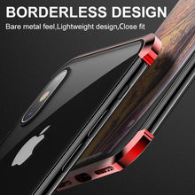 Load image into Gallery viewer, Double-sided Glass Magnetic Phone Cover, Shockproof and Borderless