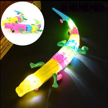 Load image into Gallery viewer, Electronic Led Light Universal Crocodile Toy