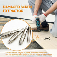 Load image into Gallery viewer, Damaged Screw Extractor,Set of 5