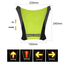 Load image into Gallery viewer, CYCLING INDICATOR SIGNAL VEST