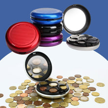 Load image into Gallery viewer, Aluminum Alloy Coin Dispenser, 12 colors