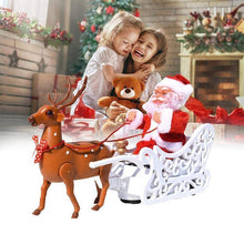 Load image into Gallery viewer, Electric Santa Claus Toys Music Deer