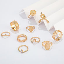 Load image into Gallery viewer, Vintage Knuckle Rings Set