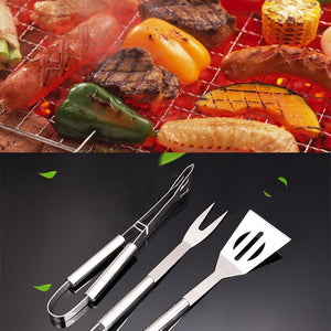 Barbecue Grilling Accessories, 3 Pieces set