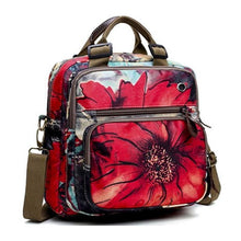 Load image into Gallery viewer, Leisure Style Flower Pattern Backpack