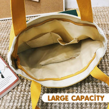 Load image into Gallery viewer, Canvas Literary Shoulder Bag, Portable Handbag