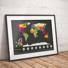 Load image into Gallery viewer, Scratch the World Map