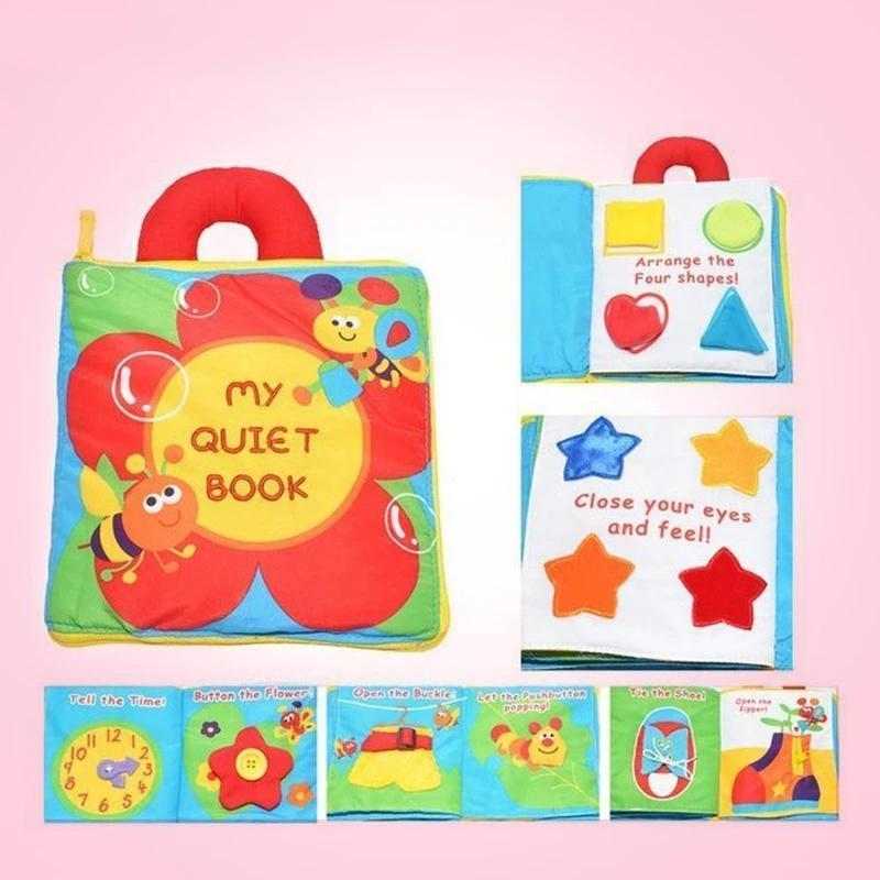 Baby's Soft Activity Books