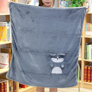 Cartoon Folding Blanket
