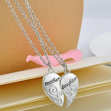 Load image into Gallery viewer, Mom & Daughter Pendant Necklace