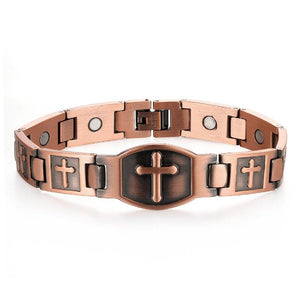 Magnetic Cross Bracelet