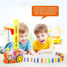 Load image into Gallery viewer, Domino Train Toy Set