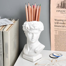 Load image into Gallery viewer, Creative Carving David Pen Holder