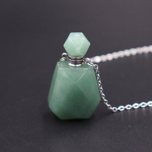 Crystal Perfume Diffuser Necklace