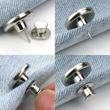 Load image into Gallery viewer, Detachable Adjustable Waist Button Decorative Button
