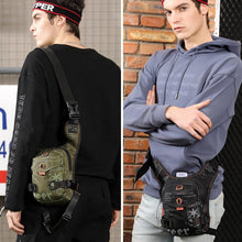 Load image into Gallery viewer, Multifunctional Sports Men's Chest Bag