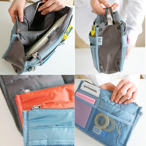 Multi-Pocket Handbag