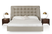 Load image into Gallery viewer, Modrest Codex Modern Grey Leatherette Bed