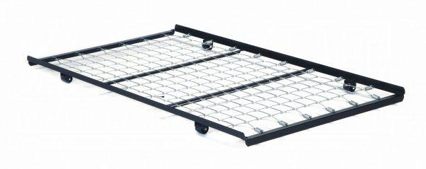 Frame Twin Roll-Out Trundle Bed Frame w/Link Spring - 02507 - Metal