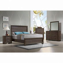 Load image into Gallery viewer, Cyrille Queen Bed (Wooden HB) - 25840Q - Walnut