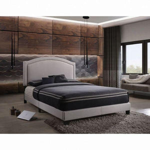 Garresso Queen Bed - 26340Q - Fog Fabric