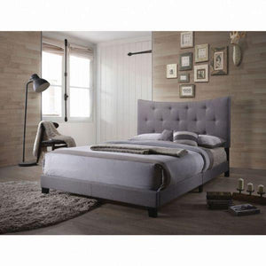 Venacha Queen Bed - 26360Q - Gray Fabric