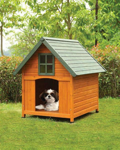 Wade Pet House - 98202 - Honey Oak & Green