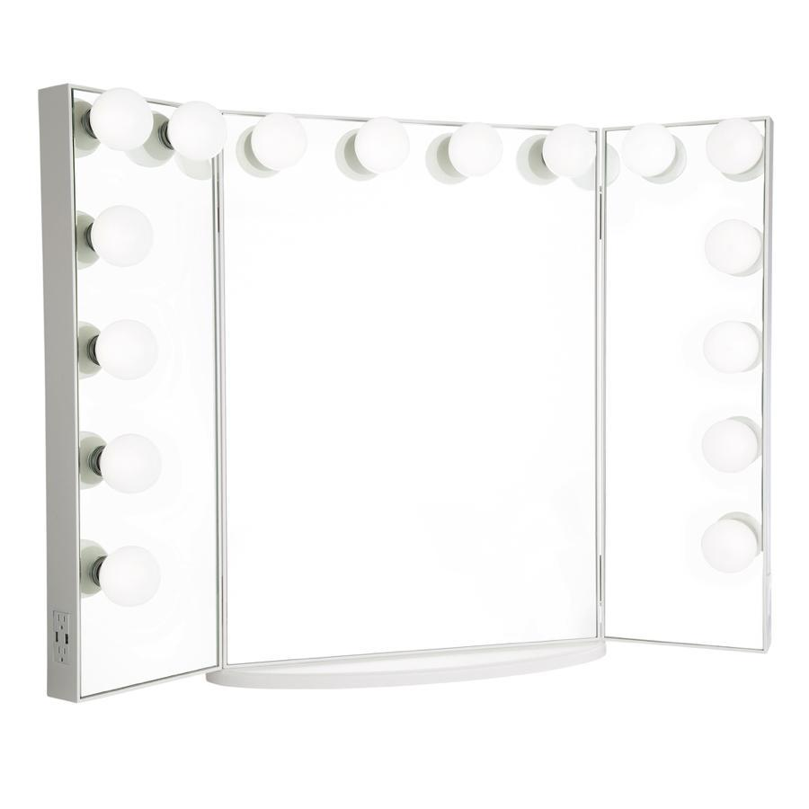 HOLLYWOOD GLOW® PRO TRIFOLD VANITY MIRROR
