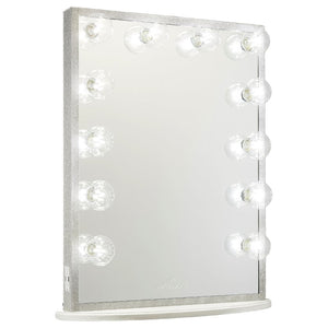 HOLLYWOOD GLOW® XL CRYSTAL VANITY MIRROR