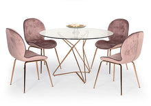 Load image into Gallery viewer, Modrest Ashland Modern Glass Round Dining Table